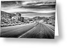 Kyle Canyon Road Greeting Card
