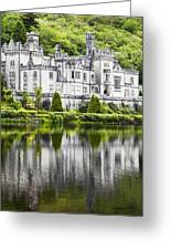 Kylemore Abbeycounty Galway Ireland Greeting Card