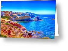 La Manga Seaside In Spain Greeting Card