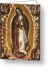 La Virgen De Guadalupe Greeting Card