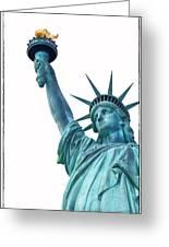 Lady Liberty  Greeting Card by Jaroslav Frank