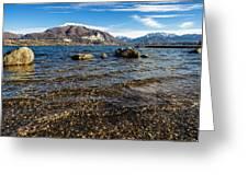 Lago Di Pusiano Greeting Card