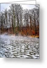 Lake Galena Doylestown Greeting Card