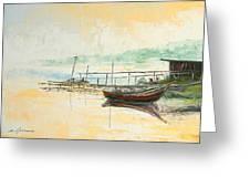 Lake Impression Greeting Card