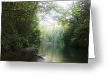 Lake Jocassee Greeting Card