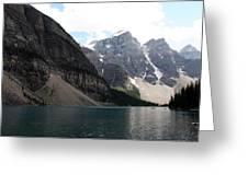 Lake Moraine Greeting Card by Carolyn Ardolino