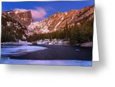 Lake Of Dreams  Greeting Card