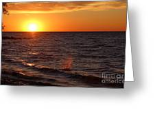 Lake Ontario Sunset Greeting Card