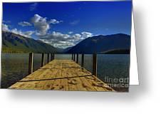 Lake Rotoiti Greeting Card