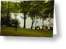 Lakeside Dreams Greeting Card