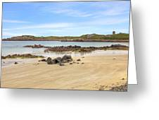 L'ancresse Bay - Guernsey Greeting Card by Joana Kruse