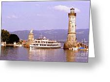 Landau Harbor Entrance Greeting Card