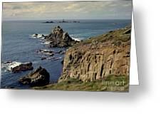 Seascape Lands End Greeting Card
