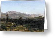 Landscape In Dauphine Greeting Card
