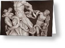 Laocoon And His Sons Greeting Card