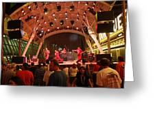 Las Vegas - Fremont Street Experience - 121211 Greeting Card