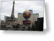 Las Vegas - Paris Casino - 12123 Greeting Card