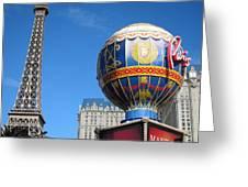 Las Vegas - Paris Casino - 12127 Greeting Card