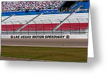 Las Vegas Speedway Grandstands Greeting Card