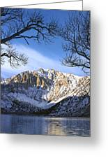 Laurel Mt And Convict Lake Sierra Greeting Card
