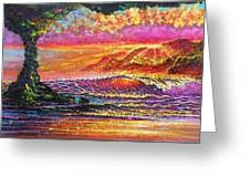 Lava Tube Fantasy Greeting Card by Joseph   Ruff