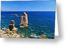 Le Colonne - San Pietro Island Greeting Card