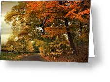 Leaf Peeping Greeting Card