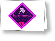 Les Amoureux Greeting Card