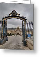 Les Invalides - Paris France - 01138 Greeting Card