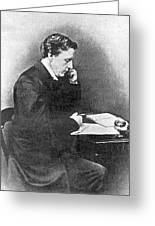 Lewis Carroll Alias Charles Lutwidge Greeting Card