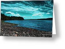 Liberty Bay Seattle Wa Greeting Card
