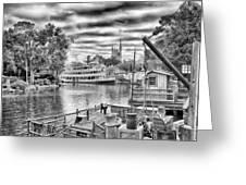 Liberty Square Riverboat Greeting Card