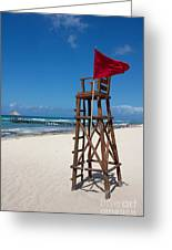 Lifeguard Greeting Card