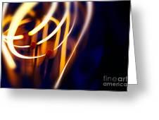 Light Bulb Filament Greeting Card