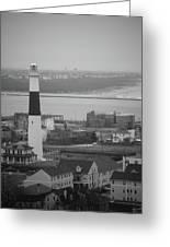 Lighthouse - Atlantic City Greeting Card