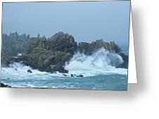 Lighthouse On An Island, Creach Greeting Card