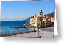 Liguria . Camogli Greeting Card