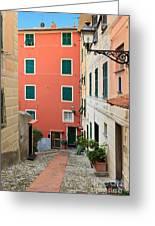 Liguria - Sori Greeting Card