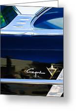 Lincoln Capri Emblem Greeting Card