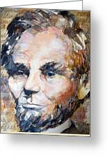 Lincoln Legacy  Greeting Card
