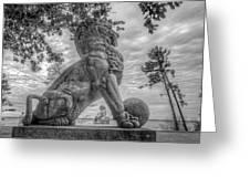 Lions Bridge West Lakeside Greeting Card
