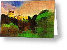 Lismore Castle Greeting Card