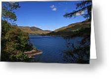 Loch Duich Scotland Greeting Card