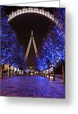 London Eye Greeting Card by Stephen Norris