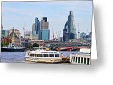 London Old And New 5838 Greeting Card