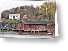 Long Island Maine Greeting Card