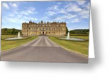 Longleat House  Wiltshire Greeting Card