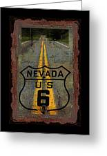 Lost Highway Greeting Card