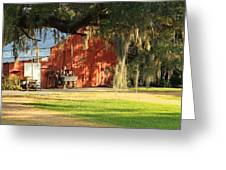 Louisiana Barn Greeting Card