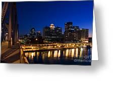 Louisville, Kentucky Greeting Card by David Davis
